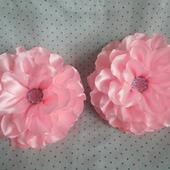 Резинки для волос с большим цветком