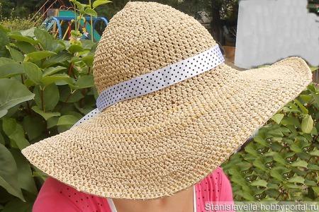 Шляпа Сан Хэт ручной работы на заказ