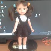 "Одежда для кукол ""Школьница"""