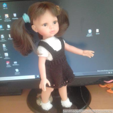 "Одежда для кукол ""Школьница"" ручной работы на заказ"