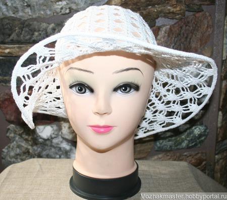 Шляпа летняя ручной работы на заказ