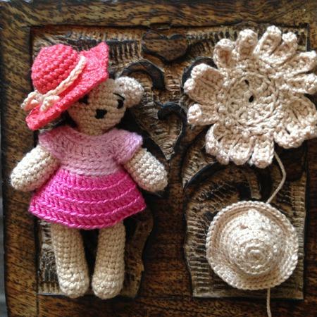 Мишутка девочка ручной работы ручной работы на заказ