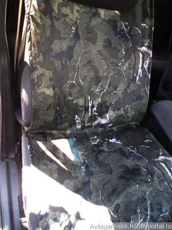 Автогамак на переднее сидение ручной работы на заказ
