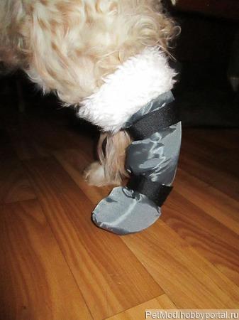 Обувь для собак ручной работы на заказ