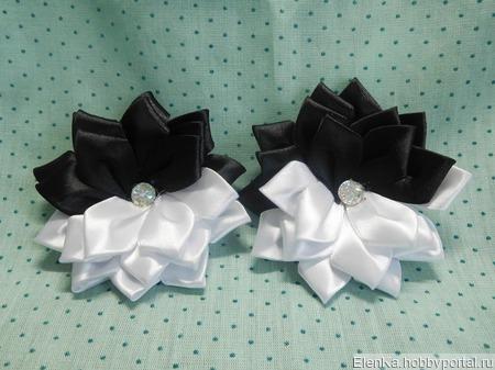 Черно белая пара ручной работы на заказ