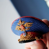 """Брелок-сувенир """"полицейская фуражка"""""""