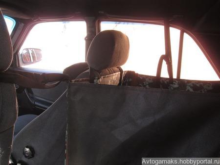 Автогамак а пол сидения ручной работы на заказ