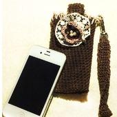 Чехол для мобильного телефона крючком
