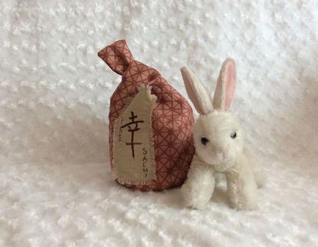 """Японская сумочка-узелок """"Счастье"""" ручной работы на заказ"""
