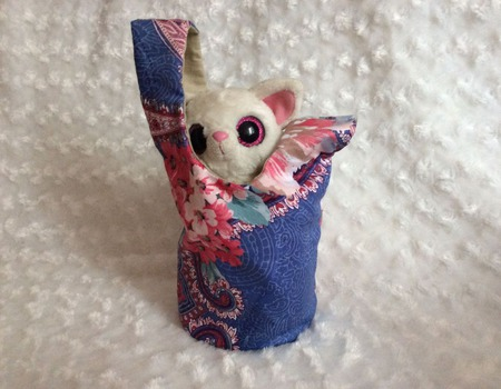 Японская сумочка-узелок ручной работы на заказ