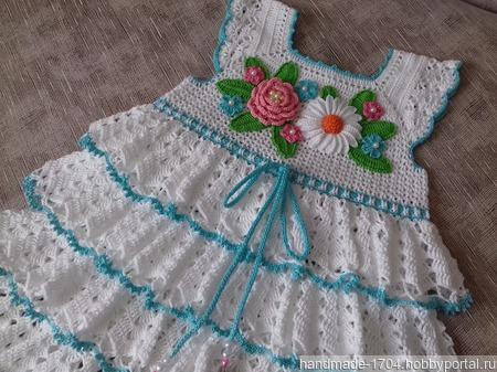 """Платье """"Летний день"""" ручной работы на заказ"""