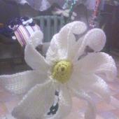 Цветы на ножке