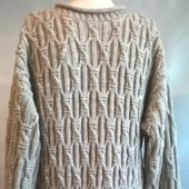 Светло-бежевый пуловер