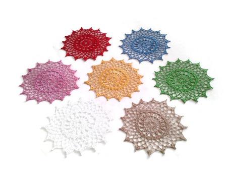 Набор салфеток из хлопка Палитра ручной работы на заказ