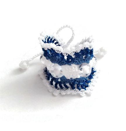 Браслет вязаный из хлопка для девочки ручной работы на заказ