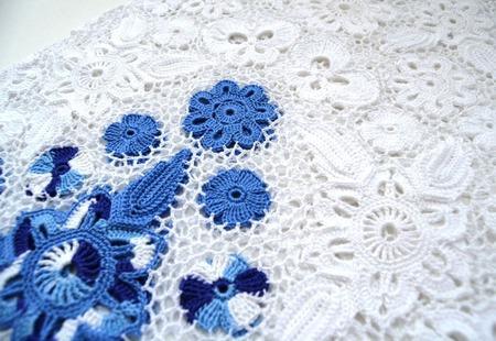 Платье из хлопка для девочки, ирландское кружево ручной работы на заказ