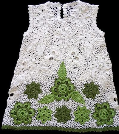 """Платье из хлопка для девочки """"Лето-жаркое, здравствуй"""" ручной работы на заказ"""