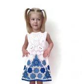 Платье из хлопка для девочки