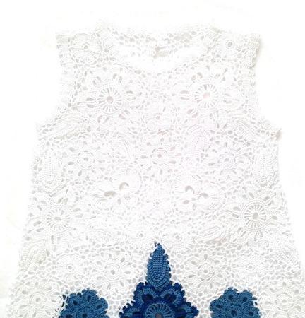 Платье из хлопка для девочки ручной работы на заказ