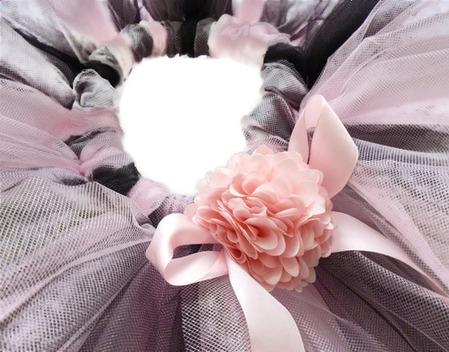 Юбка-пачка или tutu Дикая орхидея ручной работы на заказ