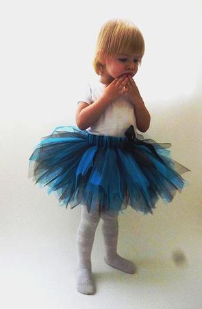 Юбка-пачка или tutu Голубая лагуна ручной работы на заказ