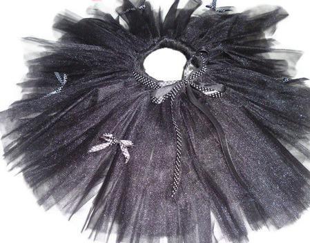 Юбка-пачка или tutu Черная кошка ручной работы на заказ