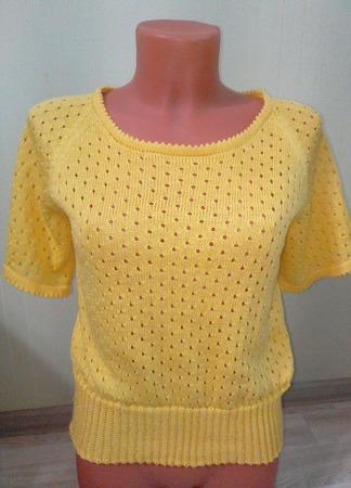 Летняя блузка ручной работы на заказ