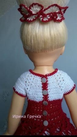 Наряд для куклы ручной работы на заказ
