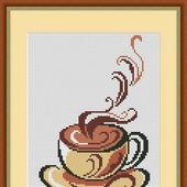 фото: Материалы для творчества (авторская схема кофе)