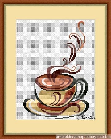 """Схема """"Кофе"""" ручной работы на заказ"""