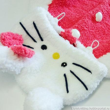 """Толстовка """"Hello Kitty"""" ручной работы на заказ"""