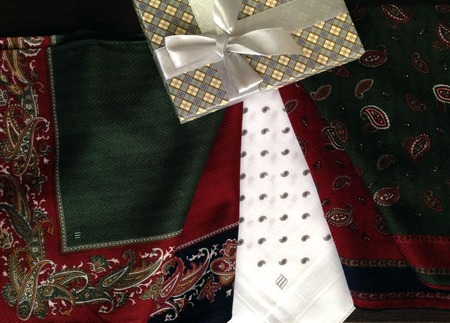 Носовые платочки Трио Корона жаккард Люкс. монограмма инициалы вензель ручной работы на заказ