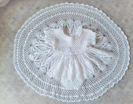 """Набор для крещения """"Елизавета"""" ручной работы на заказ"""