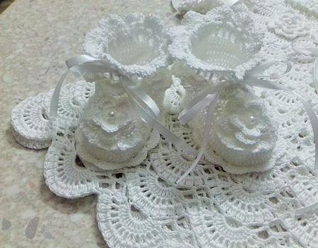 Пинетки для принцессы ручной работы на заказ