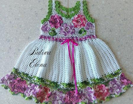 """Платье """"Цветочная фантазия"""" ручной работы на заказ"""