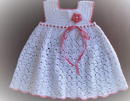 """Платье """"Ажурные веерки"""" ручной работы на заказ"""