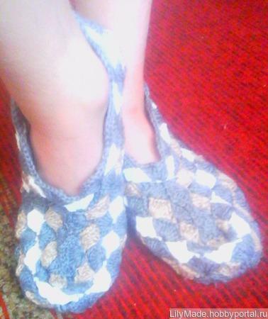 Тапочки- носочки ручной работы на заказ