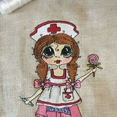 Вышивка Медсестричка