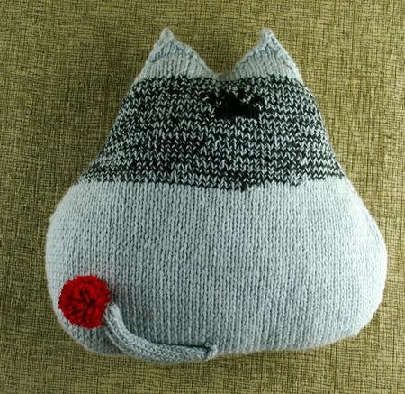"""Подушка-игрушка """"Японский Кот"""" ручной работы на заказ"""