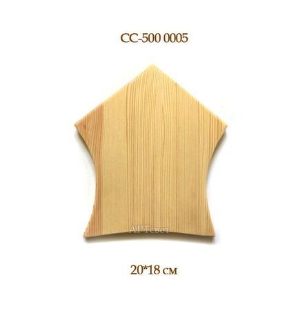 СС-500 0005 Основа для ключницы ручной работы на заказ