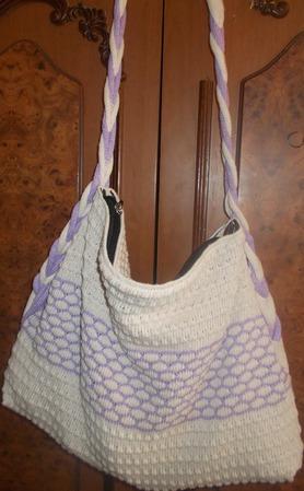 Мастер-класс по вязанию на машине летней сумки ручной работы на заказ