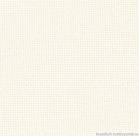 Канва Lugana 25 ct, молочная (101), Zweigart ручной работы на заказ