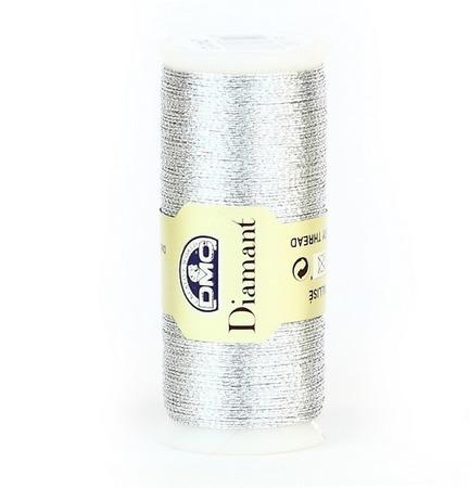 Dmc Diamant (D415) металлизированные нити для вышивания ручной работы на заказ