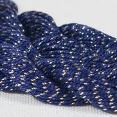 Anchor Pearl синий с золотой нитью (7150) нить для вышивания