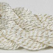 Anchor Pearl белый с золотой нитью (7001) нить для вышивания