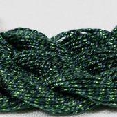 Anchor Pearl зеленый с серебристой нитью (683) нить для вышивания