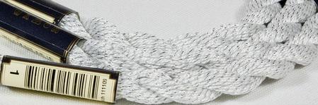 Anchor Pearl белый с серебристой нитью (1) нить для вышивания ручной работы на заказ
