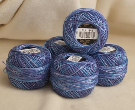 Anchor Pearl Cotton №8 Multicolor нити для вышивания ручной работы на заказ