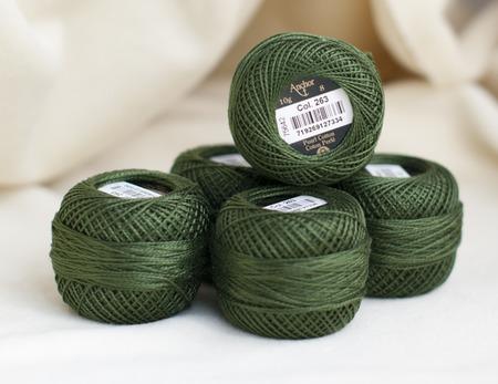 Anchor Pearl Cotton №8 нити для вышивания ручной работы на заказ