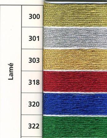 Anchor Lame нити для вышивания, металлик ручной работы на заказ